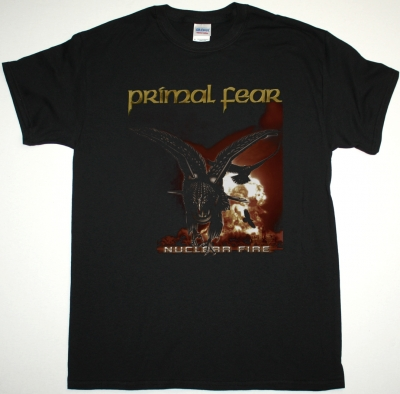 PRIMAL FEAR NUCLEAR FIRE NEW BLACK T-SHIRT