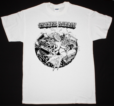 ORANGE GOBLIN OCTOPUS NEW WHITE T-SHIRT