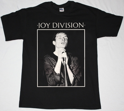 JOY DIVISION HERE ARE THE YOUNG MEN NEW BLACK T-SHIRT