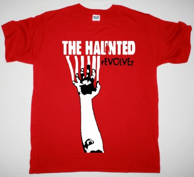 THE HAUNTED REVOLVER NEW RED T-SHIRT