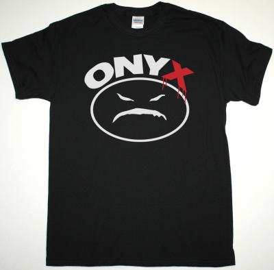 ONYX LOGO NEW BLACK T-SHIRT
