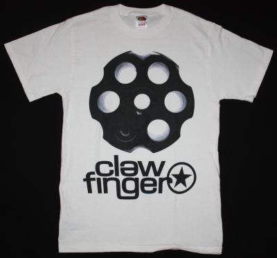CLAWFINGER CLAWFINGER'97 NEW WHITE T-SHIRT