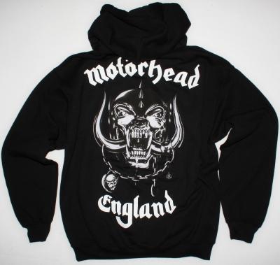 MOTORHEAD LOGO NEW BLACK HOODIE