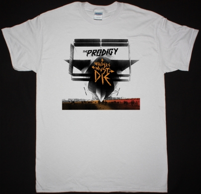 THE PRODIGY INVADERS  MUST DIE NEW WHITE T SHIRT