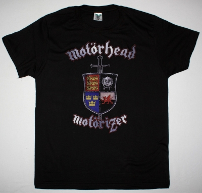 MOTORHEAD MOTORIZER 2008 NEW BLACK T-SHIRT