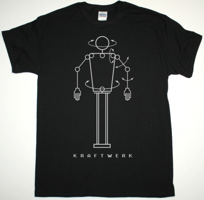 KRAFTWERK ROBOT NEW BLACK T-SHIRT