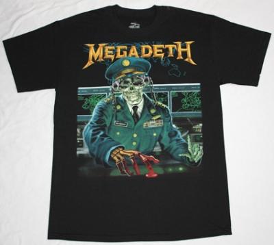 MEGADETH HOLY WARS '91 NEW BLACK T-SHIRT