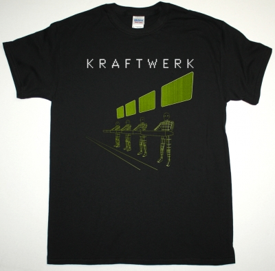 KRAFTWERK EXPO REMIX NEW BLACK T-SHIRT