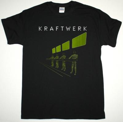 KRAFTWERK EXPO REMIX NEW BLACK T-SHIRT