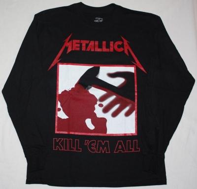 METALLICA KILL'EM ALL 1983  LONG SLEEVE T-SHIRT