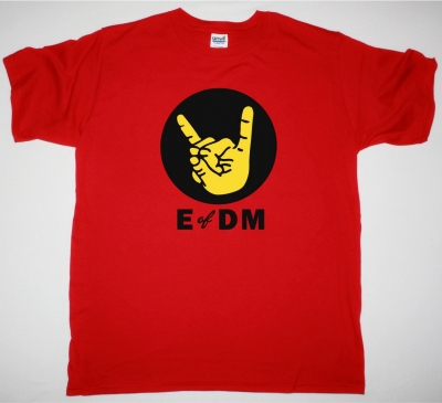 EAGLES OF DEATH METAL HAND ICON NEW RED TSHIRT