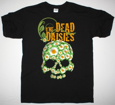 THE DEAD DAISIES LOGOSHIRT NEW BLACK T-SHIRT