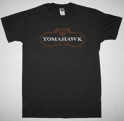 TOMAHAWK MIT GAS NEW BLACK T-SHIRT