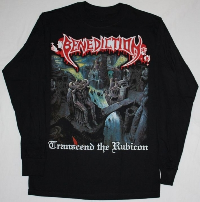 BENEDICTION TRANSCEND THE RUBICON'93 S-XXL LONG SLEEVE T-SHIRT