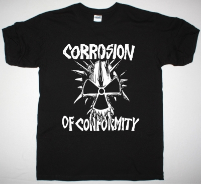 CORROSION OF CONFORMITY EYE FOR AN EYE SKULL NEW BLACK T-SHIRT