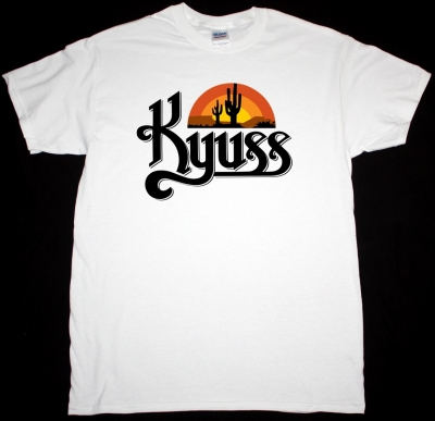 KYUSS BLACK WIDOW NEW WHITE T-SHIRT