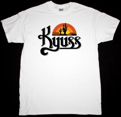 KYUSS BLACK WIDOW NEW WHITE T-SHIRT