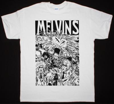 MELVINS TOUR TEE NEW WHITE T SHIRT