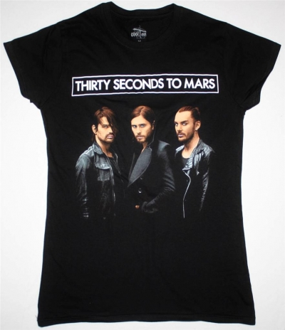 30 SECONDS TO MARS PHOTO WORLD TOUR 2014 LADY T-SHIRT