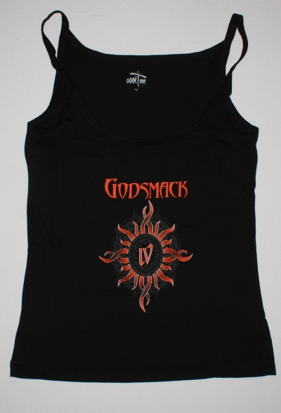GODSMACK IV NEW BLACK WOMAN'S VEST TANK TOP