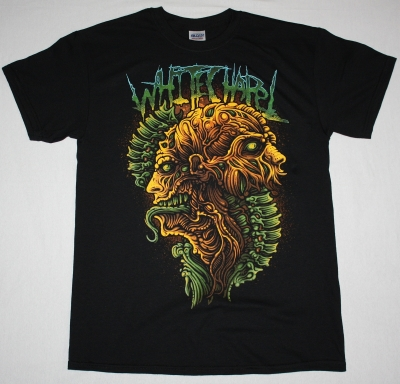 WHITECHAPEL ANATOMY NEW  BLACK T-SHIRT