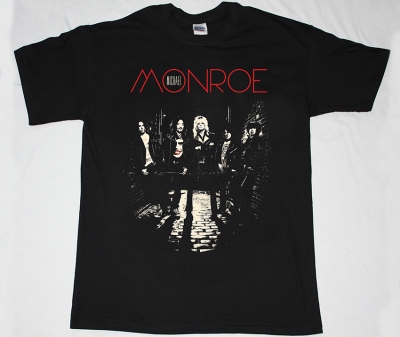 MICHAEL MONROE  78 NEW BLACK T-SHIRT