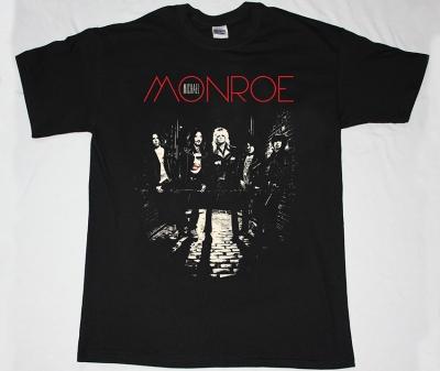 MICHAEL MONROE  78 NEW BLACK T-SHIRT