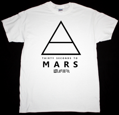 30 SECONDS TO MARS TRIAD AIR LOGO THIS IS WAR NEW WHITE T-SHIRT
