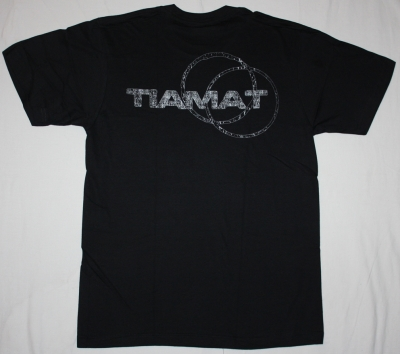 TIAMAT SKELETON SKELETRON'99 NEW BLACK T-SHIRT