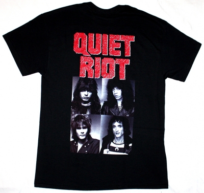 QUIET RIOT METAL HEALTH '83 NEW BLACK T-SHIRT