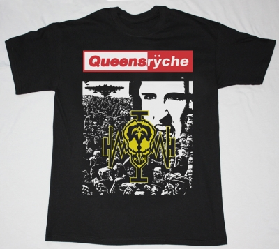 QUEENSRYCHE OPERATION MINDCRIME'88  NEW BLACK T-SHIRT