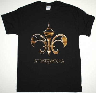 STRATOVARIUS LOGO NEW BLACK T-SHIRT