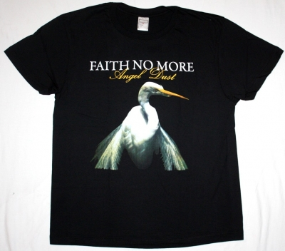 FAITH NO MORE ANGEL DUST'92 NEW BLACK T-SHIRT