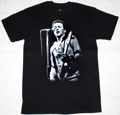 JOE STRUMMER NEW BLACK T-SHIRT