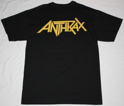 ANTHRAX AMONG THE LIVING'87 NEW BLACK T-SHIRT