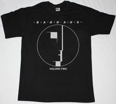 BAUHAUS VOLUME TWO BLACK T-SHIRT