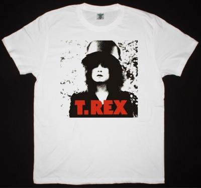 T REX THE SLIDER 1972 NEW WHITE T-SHIRT