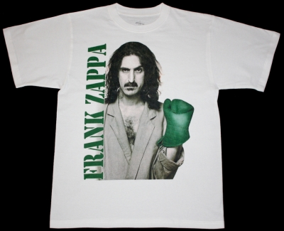 FRANK ZAPPA THEM OR US '84 NEW WHITE T-SHIRT