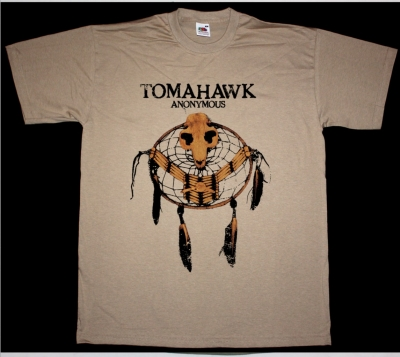 TOMAHAWK ANONYMOUS NEW KHAKI T-SHIRT