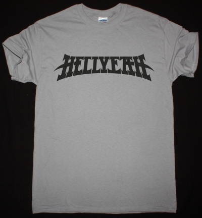 HELLYEAH LOGO NEW LIGHT GREY T-SHIRT