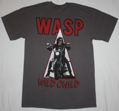 W.A.S.P. WILD CHILD'85 NEW GREY T-SHIRT