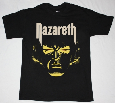 NAZARETH HOT TRACKS'73-76 NEW BLACK T-SHIRT