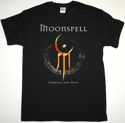 MOONSPELL DARKNESS AND HOPE NEW BLACK T-SHIRT