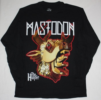 MASTODON THE HUNTER HEAD S-XXL LONG SLEEVE T-SHIRT