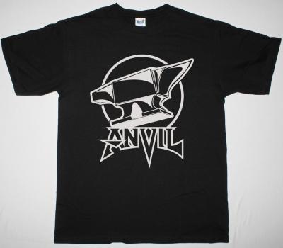 ANVIL ON ANVIL LOGO NEW BLACK T SHIRT