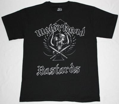 MOTORHEAD BASTARDS  NEW BLACK T-SHIRT