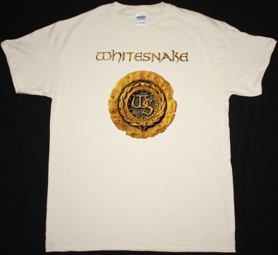 WHITESNAKE 1987 NEW NATURAL COLOR T-SHIRT