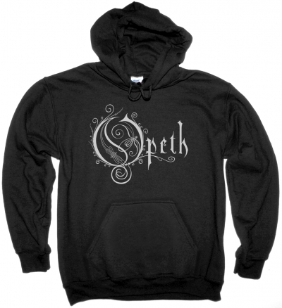 OPETH LOGO NEW BLACK HOODIE SWEATSHIRT