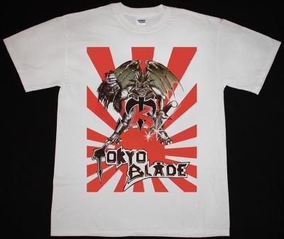 TOKYO BLADE TOKYO BLADE'83 NEW WHITE T-SHIRT