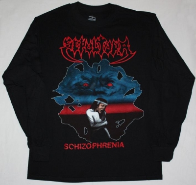 SEPULTURA SCHIZOPHRENIA'87 S-XXL LONG SLEEVE T-SHIRT